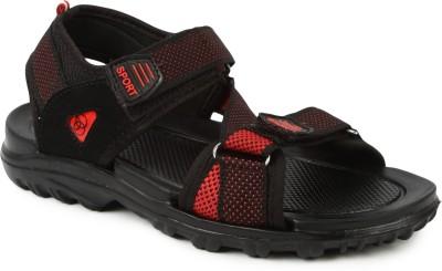 Gowell Boys Black Sandals