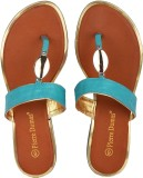 Raffinee Women Turquoise Flats
