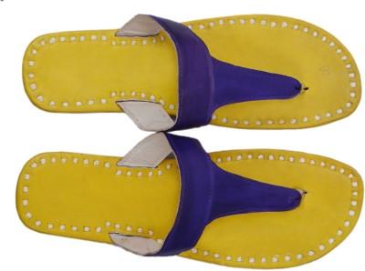 Paavdi Women Yellow Flats