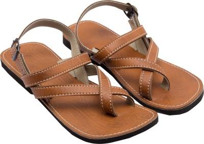 Ridhi Sidhi Brown Men Brown Sandals