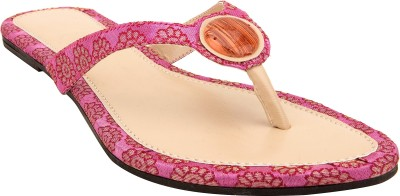 Royal Collection Women Pink, Beige Flats