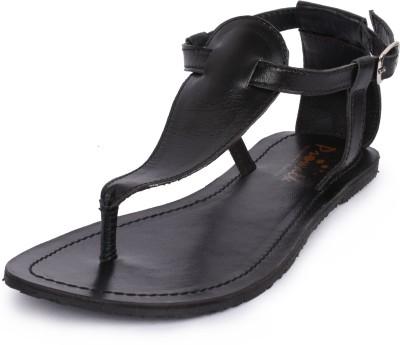 PROWALK Women Black Flats