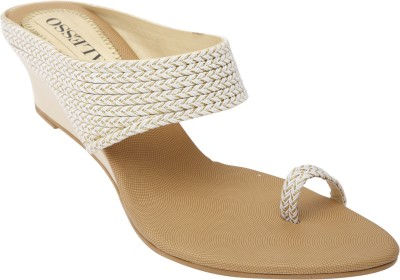 Alesso Women White Wedges