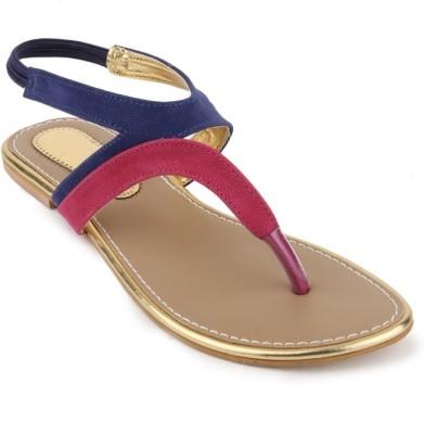 Foot Jewel Women Blue Flats