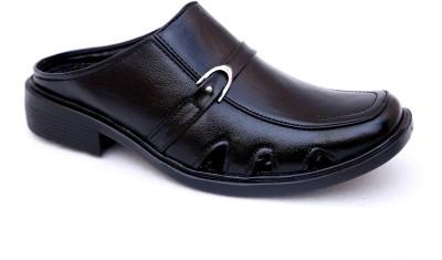 Hybrid Men Black Sandals