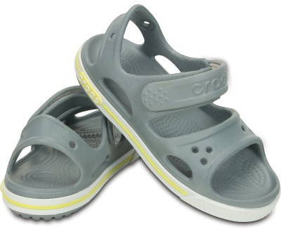 Crocs Baby Boys Black Sandals