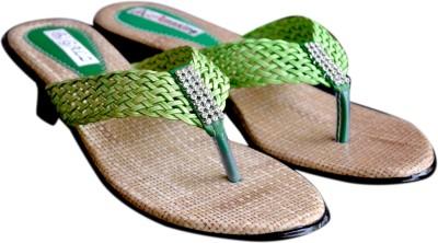 Mystique Walk Amazing Women Green Heels