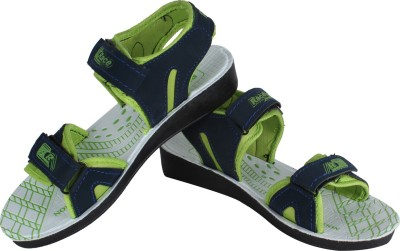 Vivaan Footwear Green-831 Women Green, Blue Sports Sandals