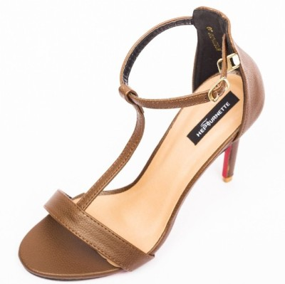 Hepburnette Women Brown Heels