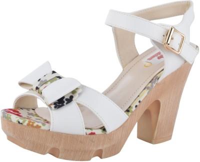 Willywinkies Women White Heels