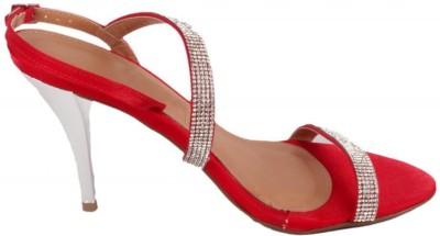 Moda Brasil Women Red Heels