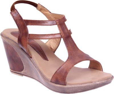 Lily Women Brown Wedges