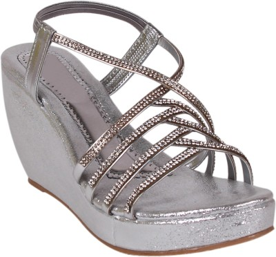 Arial Morris Women Silver Wedges