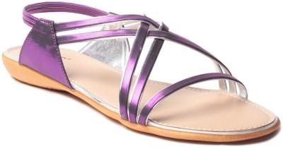 MSC Women Purple Flats
