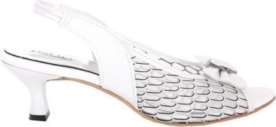 Modin Women White Heels