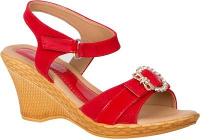 Khrav Women Red Heels