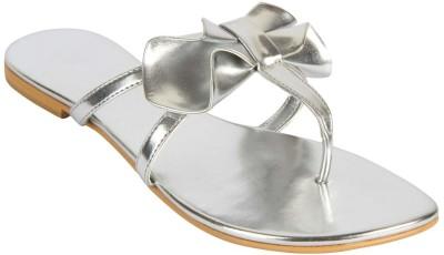 Charu- Diva Design Studio Women Silver Flats