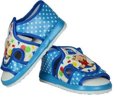 FabSeasons Boys, Girls Blue Sandals