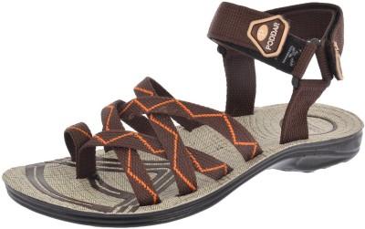 Poddar Men Brown Sandals