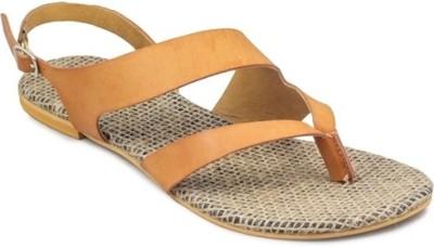 Gaiety Women Tan Flats