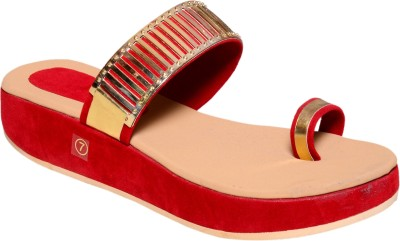 Royal Women Red Wedges