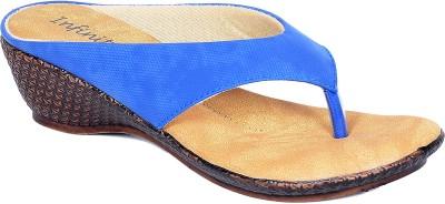 Infiniti Women Blue Wedges