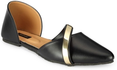 Something Different Women Black Flats