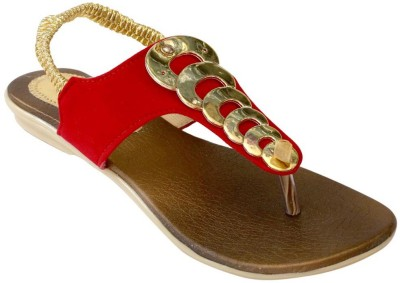Recent Collection Girls Red Sandals