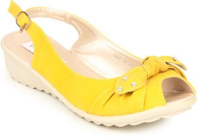 Stylistry Women Yellow Wedges