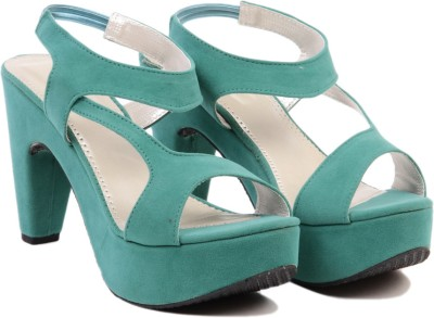 Ten Fabulous Sea Green Women Green Heels