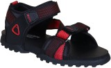 Irus R-Sports Men Black,Red Sandals