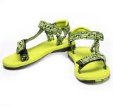 Unistar Men Green Sandals