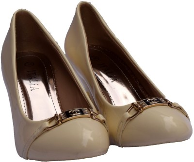 SuperStarBrand Women Beige Heels