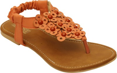 Remson India Girls Orange Flats