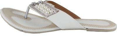 Kala Sanskriti Women White, Beige Flats