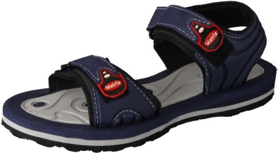 Matrix Men Grey, Blue Sandals