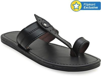 Paduki Men Black Sandals