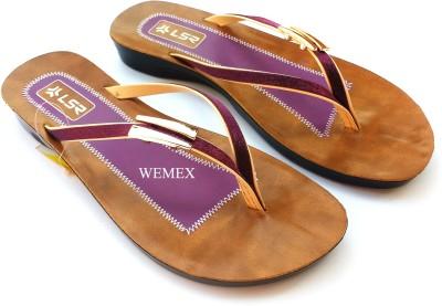 Wemex Women Purple Flats