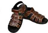 Aramish Men Tan Sandals