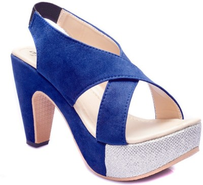 Dolphin Miles Women Blue Heels