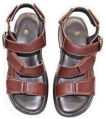 Dfut Men Brown Sandals