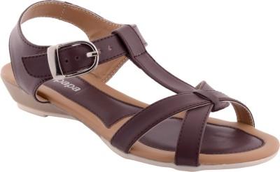 peterpapa Women Brown Flats