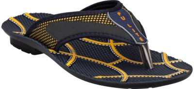 Pu Lite Men Blue, Yellow Sandals