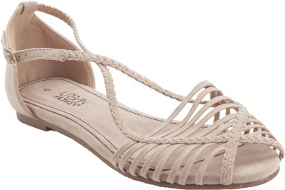 Urban Monkey Women Beige Flats