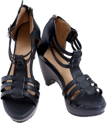 American Cult Women Black Heels