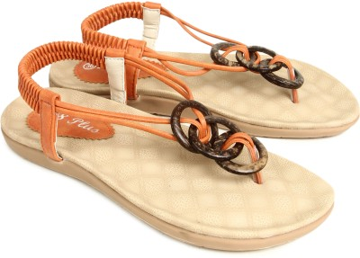 Starchi Women Orange Flats