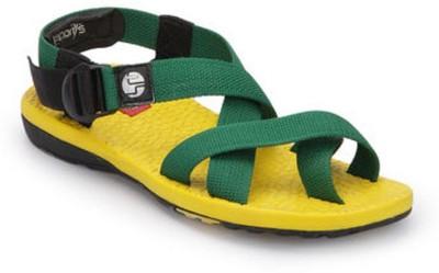 Wave Walk Men Yellow Sandals