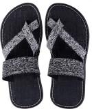 Tripssy Men Black Sandals
