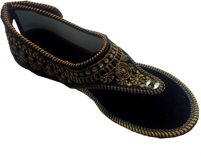 Kalakari Girls, Women Gold Flats