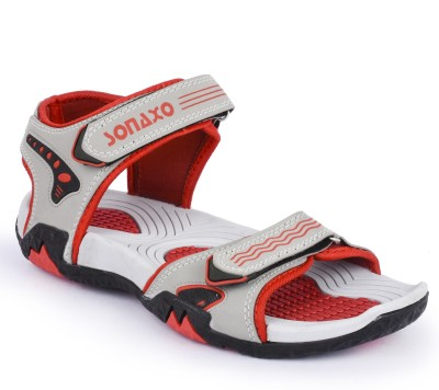 Sonaxo Men White Sandals